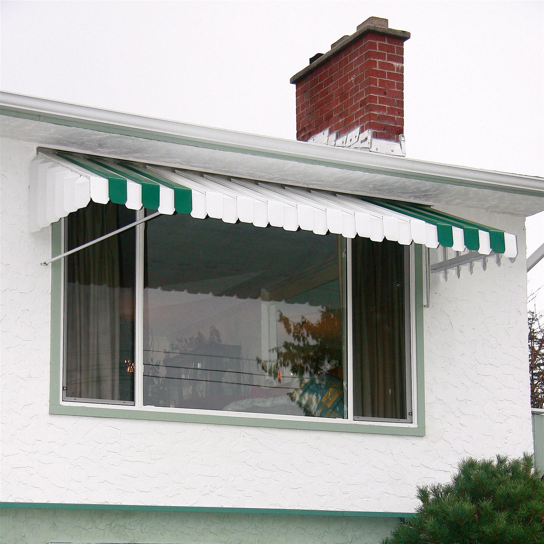 Aluminum window modern aluminum window awnings for Window awnings