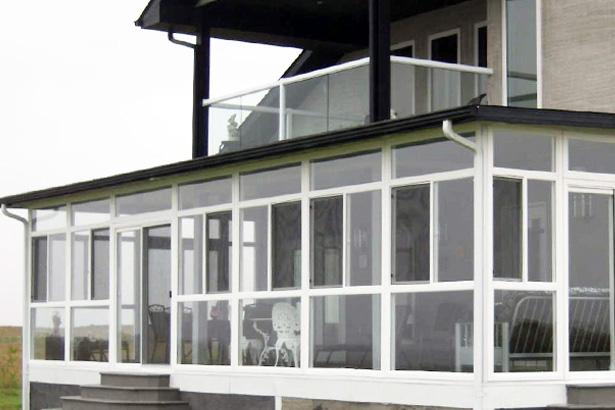 Sunrooms Aluminum Windows Vinyl Windows Building